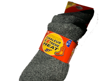 Buy Now: Men's Chaleur Extreme Heat Thermal Socks 30C -22F