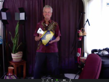 per person: Virtual Rhythm-Based Sessions For Corporate and Community Groups