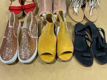 Buy Now: Mixed assorted Footwear lot - $99 for box of 20 pairs.