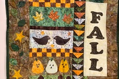 Selling with online payment: Fall Wall Hanging