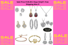 Buy Now: 50 Pcs Swarovski Elements Jewelry-Sale Price $145.00 2 Days Only!