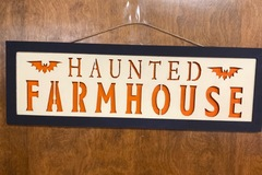 Selling with online payment: Haunted farmhouse