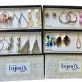Buy Now: 12 Boxes - 3 pair Earrings Bijoux Bar Retail Priced $34.00 each