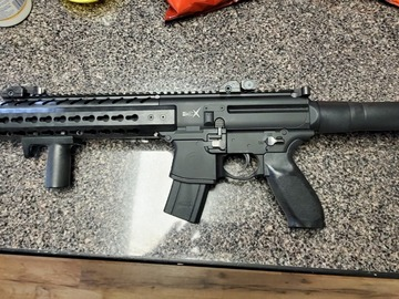 Selling: Sig Mcx .177 c02 rifle (barely used)