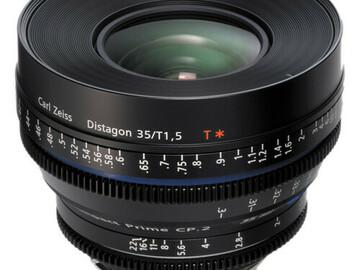 Vermieten: Zeiss CP2 35mm T1.5 PL Mount