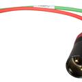 Vermieten: Stereo XLR Female auf 2x XLR Male Y-Kabel