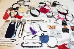Liquidation/Wholesale Lot: 70 Piece Department Store Headbands Hair Accessories