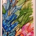 Selling with online payment: Hand Painted Flowers on Greeting Cards