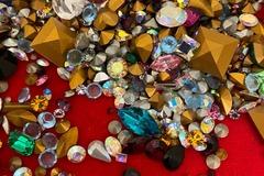 Buy Now: 200 grams-- Swarovski Rhinestones-- All Sizes!  $19.99
