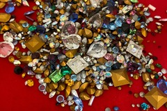 Buy Now: 100 grams-- Genuine Swarovski Rhinestones-- $9.99