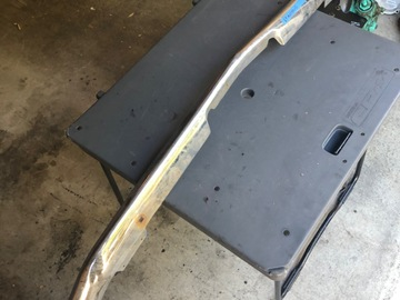 Selling with online payment: 1969 Mustang front bumper