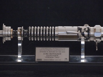 Selling with online payment: Master Replicas ROTJ Luke Skywalker Version 2 Hilt UNOPENED