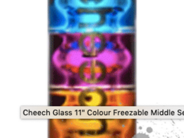 "Post Products: Cheech Glass 11"" Colour Freezable Middle Section"