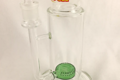 "Post Products: Cheech 9"" Showerhead Base Green Glass"
