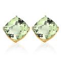 Buy Now: GREEN AMETHYST 10KT SOLID GOLD EARRRINGS