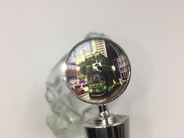 : Bottle stopper - Hong Kong Tram