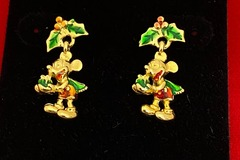 Buy Now: 50 pairs-- Christmas Mickey Mouse Disney Earrings -$1.99 pair