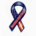 Buy Now: Freedom Isnt Free Patriotic 8 Ribbon Magnet Item #444