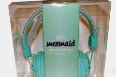 Compra Ahora: Justice Mermaid Headphones With Seashells Over-The-Ear