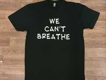 Selling with online payment: WECantBreathe Tee