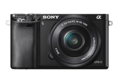 For Sale: Sony Alpha a6000 Mirrorless Digital Camera with 16-50mm Lens (Bla