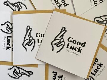 : Good Luck - Fingers Crossed