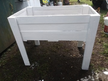 For sale: Raised gardening beds