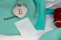 Other Item: (SOLD) Auth. Tiffany & Co Sterling  Letter E Heart Necklace