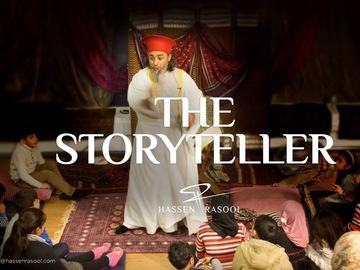 In-Person & Online: Hassen Rasool - Story teller, Quran Reciter,  Caller of Adhan