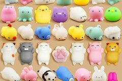 Buy Now: 2-Pack – Gummy Pals Mini Squishy Animal Stress Relief Toys –