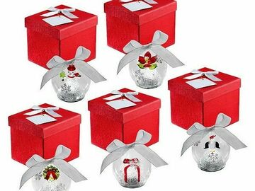Compra Ahora: Wholesale Lot Luminated Christmas Bulbs Glass 25 Bulbs 5 Sets of