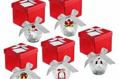 Buy Now: Wholesale Lot Luminated Christmas Bulbs Glass 25 Bulbs 5 Sets of