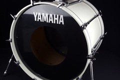 "VIP Members' Sales Only: 1990 24"" Yamaha Rock Tour Bass drum WHITE"
