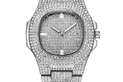 Buy Now: Iced out gold plated watches