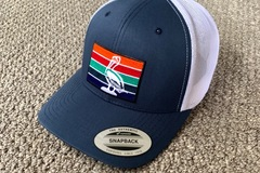 Selling with online payment: St Pete Flag Hat Trucker Mesh SnapBack