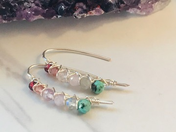 Selling: Gemstone Threaders on Silver Wire