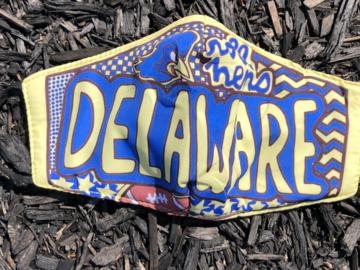 Selling A Singular Item: Delaware Mask