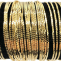 Buy Now: 50 Pcs Herringbone Bracelets 14 kt Gold Plated - 7 1/4 inch