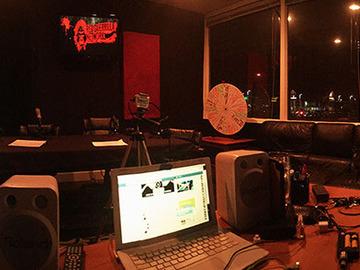 Rent Podcast Studio: Red Guerilla Network