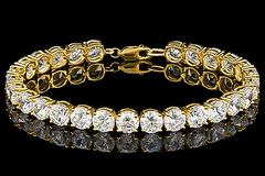 Make An Offer: lab created tennis Bracelet
