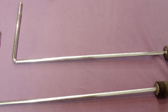 "Selling with online payment: Pair of Cymbal ""L"" arms that attach to your tension rods"
