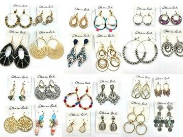 Buy Now: 100 Pair Allison Reed Earrings-Priced $29.00 Pair = $2,900.00