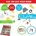 Buy Now: Construction Toys 5 In 1 Build And Play Kit (148 Pieces)