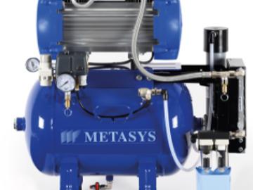 Nieuwe apparatuur: Metasys dentale compressoren bij e-dental