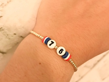 Selling multiple of the same items: 76ers Bracelet