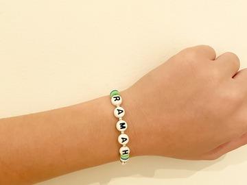 Selling A Singular Item: Camp Name Bracelet