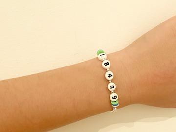 Selling A Singular Item: Camp Zipcode Bracelet
