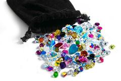 Buy Now: 500 pieces Swarovski crystal stones lot mixed 18pp- 15mm