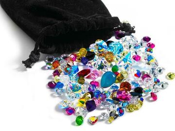 Buy Now: 1,000 pieces Swarovski crystal stones lot mixed 18pp- 15mm