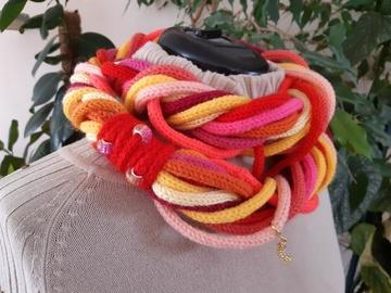 Vente au détail: Bandeau tour de cou couleurs vives